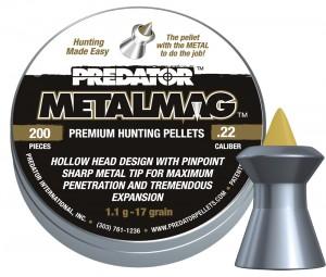ARMYARMS.cz nabízí: Predator Metalmag .22 - 200 ks