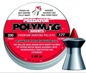 ARMYARMS.cz nabízí: PREDATOR POLYMAG SHORTS .177 - 200 ks