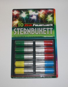 ARMYARMS.cz nabízí: Pyro světlice Sternbukett set 10ks