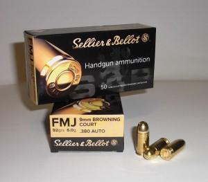 ARMYARMS.cz nabízí: SB 9 Browning FMJ 6g/92grs