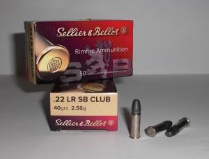 Náboj SB 22 LR CLUB 2,56g/40grs
