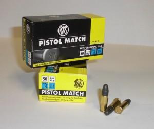 ARMYARMS.cz nabízí: Náboj 22 LR Pistol Match 2,6g/40gr