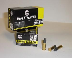 ARMYARMS.cz nabízí: Náboj 22 LR Rifle Match 2,6g/40gr