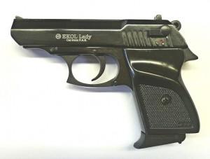 ARMYARMS.cz nabízí: Plynová pistole Ekol Major - černá