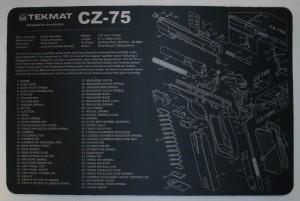 ARMYARMS.cz nabízí: TEKMAT CZ-75