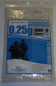ARMYARMS.cz nabízí: Guarder 0,25g 4000ks