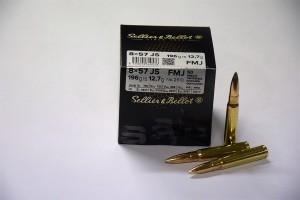 SB 8x57 JS FMJ 196grs 12,7g