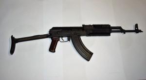 Samonabíjecí puška AK 47