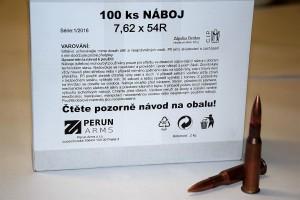 Náboj 7,62x54R - balení 100 ks