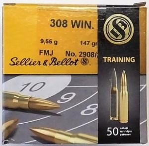 ARMYARMS.cz nabízí: SB 308 Win FMJ 147grs 9,55g