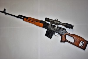 PSL, samonabíjecí puška+optika+zásobník