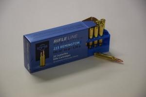 PPU 223 Rem. FMJ BT 55 gr