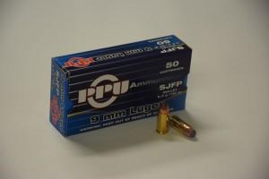 PPU 9 mm LUGER SJFP 6,5g/100gr