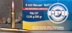 ARMYARMS.cz nabízí: Prvi Partizan 8 mm Mauser Match (8x57J)