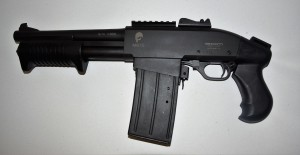 ARMYARMS.cz nabízí: Brokovnice S.D.M. M870 shorty  12/76