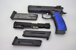 SET CZ 75 SP-01 SHADOW + ADAPTER KADET