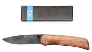 KIZLYAR BBIKER 1 wood zavírací nůž