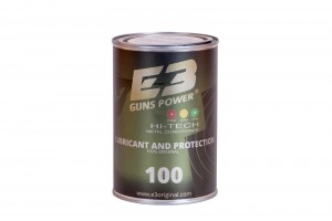 ARMYARMS.cz nabízí: E3 GUNS POWER zušlechťovač kovů na zbraně